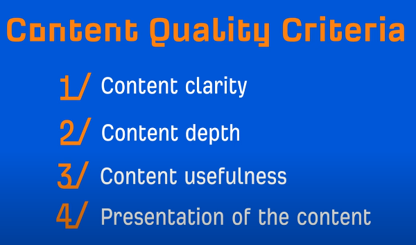Identify the Criteria That Will Make Your Content Competitive